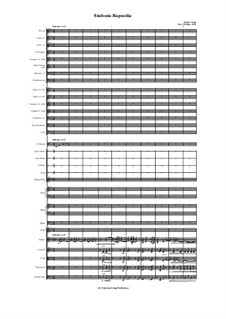 Sinfonia Rapsodia: Sinfonia Rapsodia by Jordan Grigg