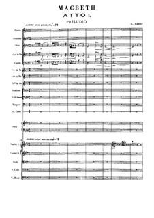 Macbeth: Vollpartitur by Giuseppe Verdi