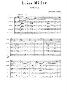 Luisa Miller: Vollpartitur by Giuseppe Verdi
