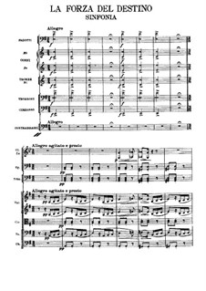 Die Macht des Schicksals: Vollpartitur by Giuseppe Verdi