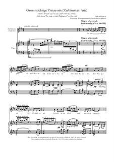 Ariadne auf Naxos: Grossmächtige Prinzessin (Zerbinetta, from So war es) by Richard Strauss