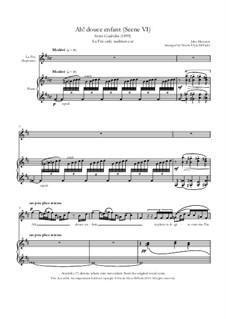 Cendrillon (Cinderella): Ah! Douce enfant (La Fée's aria) by Jules Massenet