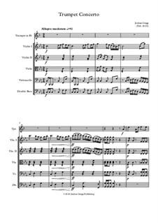 Trumpet Concerto: Trumpet Concerto by Jordan Grigg
