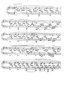 Nocturne für Klavier Nr.6 in Des-Dur, Op.63: Für einen Interpreten by Gabriel Fauré
