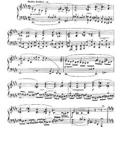Nocturne für Klavier No.7 in cis-Moll, Op.74: Für einen Interpreten by Gabriel Fauré