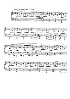 Nocturne für Klavier No.12 in e-Moll, Op.107: Für einen Interpreten by Gabriel Fauré