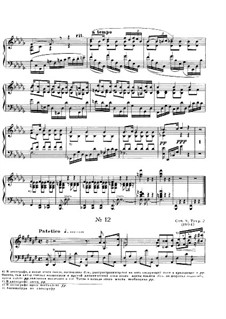 Zwölf Etüden, Op.8: Etüde Nr.12 by Alexander Skrjabin
