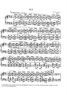 Zwölf Etüden, Op.8: Etüde Nr.3 by Alexander Skrjabin