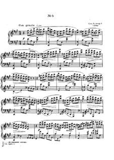 Zwölf Etüden, Op.8: Etüde Nr.6 by Alexander Skrjabin