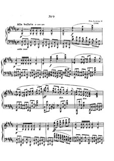 Zwölf Etüden, Op.8: Etüde Nr.9 by Alexander Skrjabin