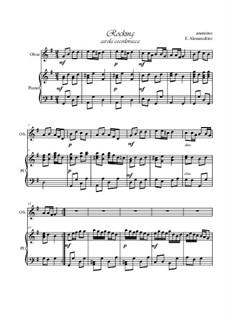 Rocking: Für Oboe und Klavier by folklore