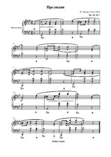 Nr.7 in A-Dur: Für Klavier by Frédéric Chopin