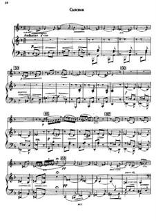 Konzertsuite für Violine und Orchester, Op.28: Conte by Sergei Taneyev