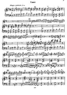 Konzertsuite für Violine und Orchester, Op.28: Gavotte by Sergei Taneyev