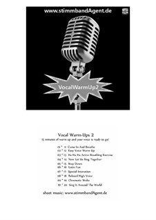 Vocal Warm-Up2 - english, Voice Training, Choral Warm-up, rhythm and groove, SB16a: Vocal Warm-Up2 - english, Voice Training, Choral Warm-up, rhythm and groove by Soerin Bergmann
