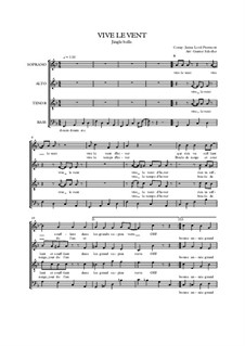 Jingle Bells: Für gemischten Chor by James Lord Pierpont