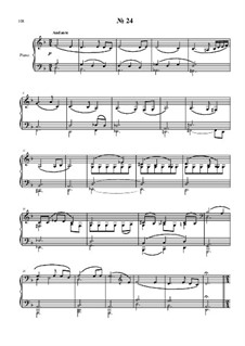 24 preludies and fugues for piano: No.24 by Vladimir Polionny