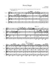 Drowsy Maggie: Für Streichquartett by folklore