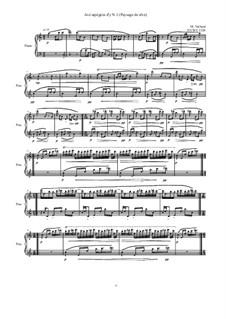 Avé arpégées d'y (Paysage de rêve) for piano: Nr.1, MVWV 1328 by Maurice Verheul