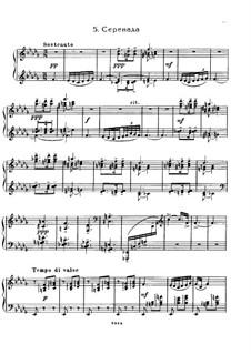 No.5 Sérénade: Für Klavier by Sergei Rachmaninoff