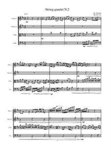 String quartet No.2, MVWV 24: String quartet No.2 by Maurice Verheul