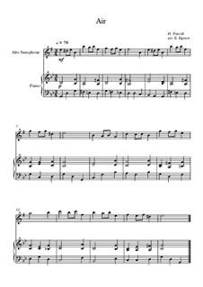 10 Easy Classical Pieces for Alto Saxophone and Piano Vol. 2: Air by Johann Sebastian Bach, Henry Purcell, Georges Bizet, Ludwig van Beethoven, Edvard Grieg, Alexander Porfiryevich Borodin, Pjotr Tschaikowski, Franz Xaver Gruber