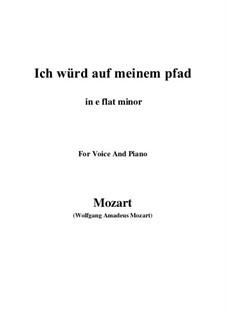 An die Hoffnung, K.390 (340c): E flat minor by Wolfgang Amadeus Mozart