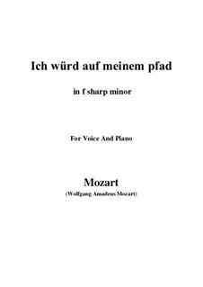 An die Hoffnung, K.390 (340c): F sharp minor by Wolfgang Amadeus Mozart