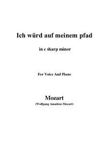 An die Hoffnung, K.390 (340c): C sharp minor by Wolfgang Amadeus Mozart