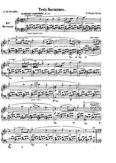 Nocturnen, Op.15: Vollsammlung by Frédéric Chopin