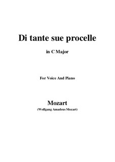 Der König als Hirte, K.208: Di tante sue procelle by Wolfgang Amadeus Mozart