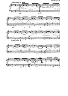Nocturne Nr.3: Für Klavier by Franz Liszt