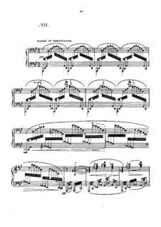 Nr.7 Was der Westwind gesehen hat: Für Klavier by Claude Debussy