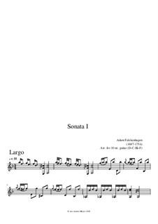 Соната No.1: Соната No.1 by Adam Falckenhagen