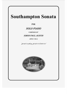 All of The Callum Collection, Op.7: No.4 Southampton Sonata. Solo piano (medium) by Simon Paul Austin