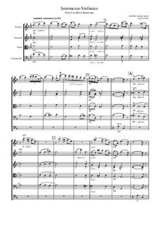 Cavaleria rusticana: Intermezzo, for strings orchestra by Pietro Mascagni