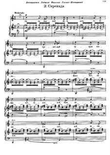 Lieder und Tänze des Todes: Nr.2 Serenade by Modest Mussorgski