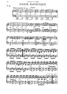 Sechs Stücke für Klavier, vierhändig, Op.59: Stücke Nr.4-6 by Louis Théodore Gouvy