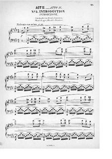 Rienzi, der Letzte der Tribunen, WWV 49: Akt II. Bearbeitung für Stimmen und Klavier by Richard Wagner