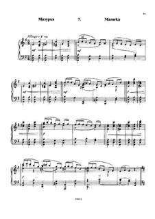 À Argenteau, Op.40: No.7 Mazurka by César Cui
