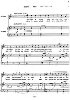 Einundzwanzig Gedichte von Nekrasov, Op.62: Nr.2 Dem Dichter by César Cui