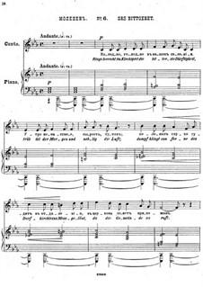 Einundzwanzig Gedichte von Nekrasov, Op.62: Nr.6 Das Bittgebet by César Cui