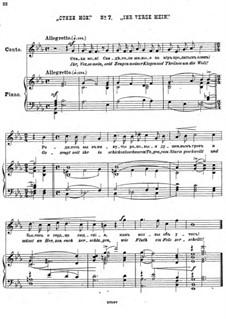 Einundzwanzig Gedichte von Nekrasov, Op.62: Nr.7 Ihr Verse mein by César Cui