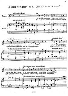 Einundzwanzig Gedichte von Nekrasov, Op.62: Nr.8 Bei Den Leuten da drauss by César Cui