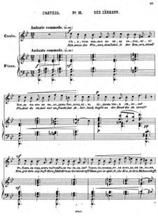 Einundzwanzig Gedichte von Nekrasov, Op.62: Nr.11 Der Sähmann by César Cui
