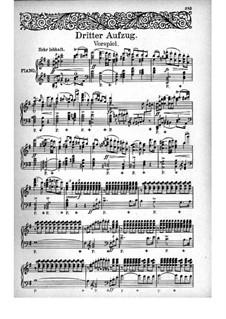 Fragmente: Akt III, für Stimmen und Klavier by Richard Wagner