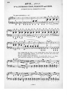 Rienzi, der Letzte der Tribunen, WWV 49: Akt IV. Bearbeitung für Stimmen und Klavier by Richard Wagner