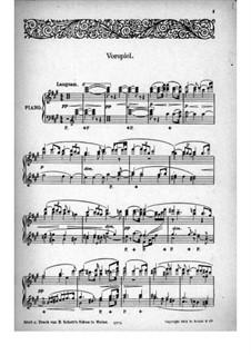 Fragmente: Vorspiel, für Klavier by Richard Wagner