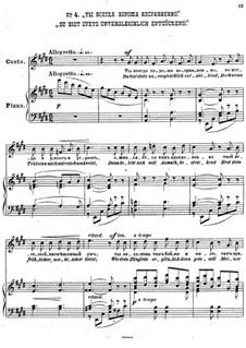 Einundzwanzig Gedichte von Nekrasov, Op.62: Nr.4 Du bist stets unvergleichlich entzückend by César Cui
