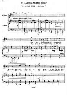 Einundzwanzig Gedichte von Nekrasov, Op.62: Nr.14 Die Gräuel böser Kriegeszeit by César Cui